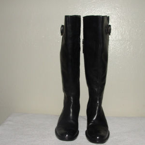 Crown by Born Boots Black Leather